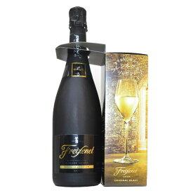 フレシネ コルドン・ネグロ カヴァ ブリュット グラス付き 750ml (スペイン スパークリングワイン 白)