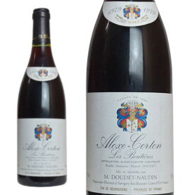 アロース・コルトン レ・ブティエール モノポール 1979年 ドメーヌ・M.ドゥデ・ノーダン 750ml (フランス ブルゴーニュ 赤ワイン)
