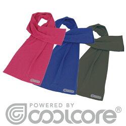 冷感タオルcoolcoreタオル熱中症紫外線対策