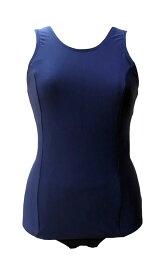 フットマーク 女子スクール水着前面スカート付き水着(旧型ワンピース) S〜3L メール便(200円)