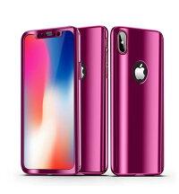iPhoneXケースiPhone8plusケースiPhone7plusケースメッキガラスフィルム付きiPhone8iPhone7ケースiPhoneX8plus7plusケースiPhone78カバー