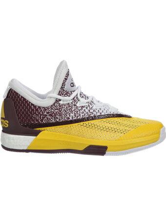 バスケットシューズ バッシュ アデイダス Adidas Crazy Light Boost 2.5 Low Wht/Yel/Maroon