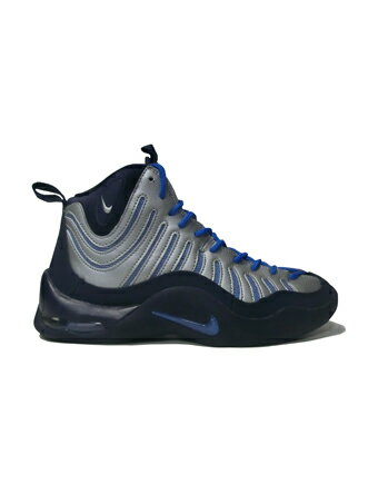バスケットシューズ ジュニア キッズ バッシュ ナイキ Nike Air Bakin GS GS Nvy/Blu/Sil 【GS】キッズ