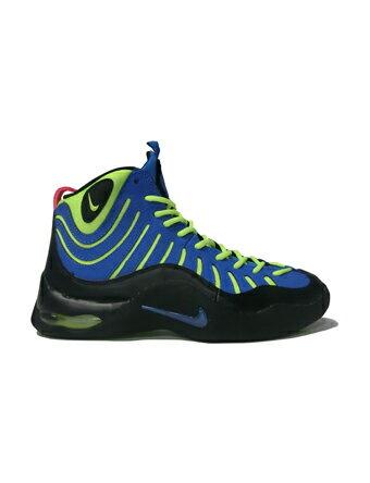 Basketball shoes junior kids bash sneakers Nike Nike Air Bakin GS GS  P.Blu/Blk/H.Pink/Volt street kids