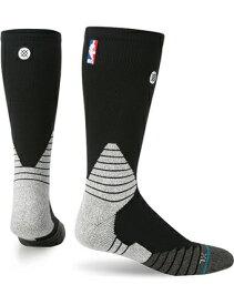 バスケットソックス ウェア クルーソックス STANCE Solid Crew NBA Socks Blk ストリート