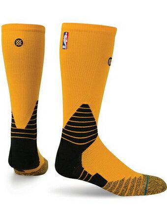 バスケットソックス ウェア クルーソックス STANCE Solid Crew NBA Socks Yel ストリート