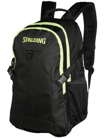 バスケットバッグ バックパック リュック スポルディング Spalding Foster Backpack Blk/LimeGrn