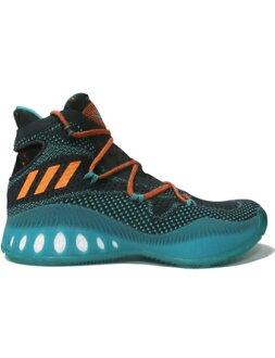 Bash 阿迪达斯篮球鞋阿迪达斯 Crazyexplosive Primeknit C.Blk/U.Org/S.Mint