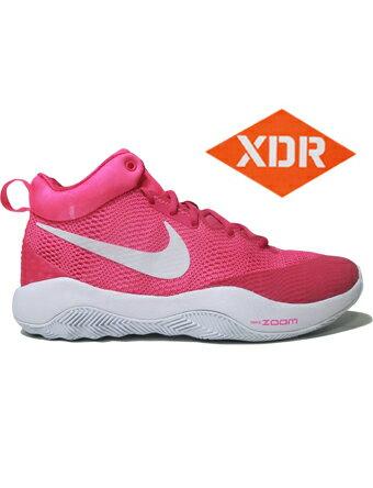 バスケットシューズ バッシュ ナイキ Nike Zoom Rev EP V.Pink/Wht