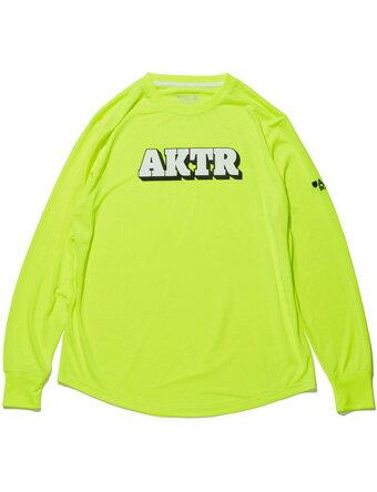 バスケットロング Tシャツ ウェア アクター AKTR BOOTLEG 3D LOGO L/S SPORTS TEE YELLOW 【MEN'S】