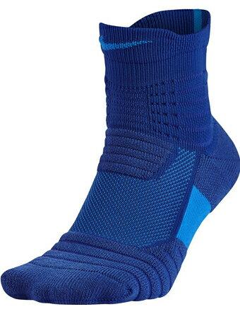 バスケットソックス ウェア ミッドクルーソックス ナイキ Nike Socks Elite Versatility Quater R,Blu