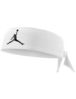 籃球配飾喬丹耐吉Jordan Head Tie AJ Jumpman D/F Wht