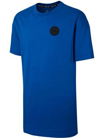バスケットTシャツ ウェア ナイキ Nike Air Tee Oversize Heavyweight Blu/Blk ストリート 【MEN'S】
