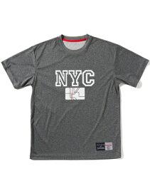 バスケットTシャツ ウェア スポルディング Spalding Tシャツ NEW YORK H.Gry 【MEN'S】