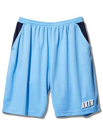 バスケットショーツ バスパン ウェア アクター AKTR BOOTLEG CITY WOVEN SHORTS L.Blu 【MEN'S】