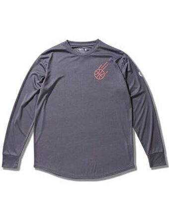 バスケットロング Tシャツ ウェア アクター AKTR BOOTLEG BEYOND L/S SPORTS TEE Gry 【MEN'S】