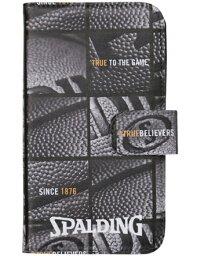 籃球配飾斯波爾丁Spalding Smartphone Case Ball Window Blk