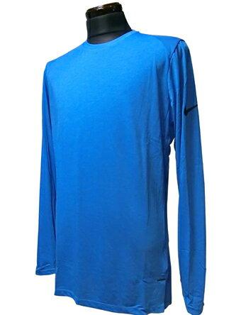 バスケットロング Tシャツ ウェア ナイキ Nike Breeze Elite L/S Top P.Blu/Blk ランニング トレーニング 【MEN'S】