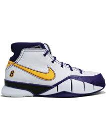 """バスケットシューズ バッシュ ナイキ Nike Zoom Kobe 1 Protro QS """"Close Out"""" Wht/D.Sol/V.Purp"""