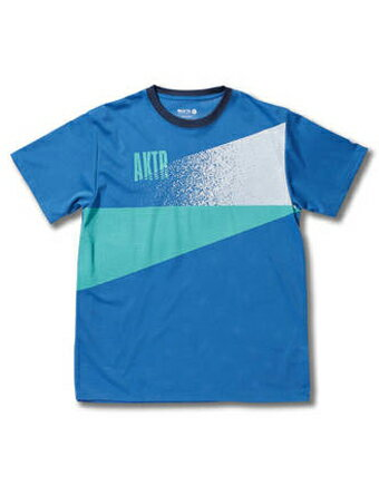 バスケットTシャツ ウェア アクター AKTR CUTTING GLOW MESH TEE Blu 【MEN'S】