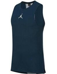 籃球無袖短袖汗衫服裝喬丹耐吉Jordan Jordan 23 Alpha Dry S/L Top C.Nvy/Wht跑步訓練