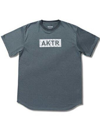 バスケットTシャツ ウェア アクター AKTR SPLASH18 BOX LOGO SPORTS TEE Gry 【MEN'S】