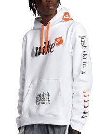 バスケットパーカー ウェア 秋冬物 ナイキ Nike JDI Club Pullover Hoodie Wht ランニング トレーニング ストリート 【MEN'S】