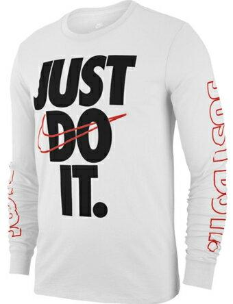 ロング Tシャツ ウェア ナイキ Nike JDI Long Sleeve Tee Wht/Blk/U.Red ストリート 【MEN'S】