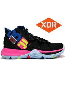 """バスケットシューズ バッシュ ナイキ Nike Kyrie 5 EP """"Just Do It"""" Blk/Volt/H.Pink"""