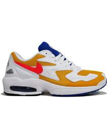シューズ スニーカー ランニング ナイキ Nike Air Max 2 Light U.Gold/F.Crimson/R.Blu ランニング トレーニング ストリート