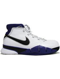 """バスケットシューズ バッシュ ナイキ Nike Zoom Kobe 1 Protro """"81 Points"""" Wht/Blk/V.Purp"""