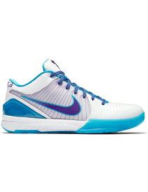 """バスケットシューズ バッシュ ナイキ Nike Zoom Kobe 4 Protro """"Draft Day"""" Wht/O.Blu/V.Purp"""