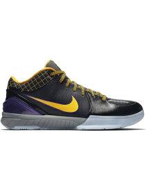 """バスケットシューズ バッシュ ナイキ Nike Zoom Kobe 4 Protro """"Carpe Diem"""" Blk/D.Sol/V.Purp/C.Gry"""