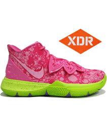 """バスケットシューズ バッシュ スニーカー ナイキ Nike Kyrie 5 SBSP EP """"Patrick Star"""" L.Pink/U.Red ストリート"""