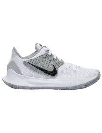 バスケットシューズ バッシュ ナイキ Nike Kyrie Low 2 Wht/Blk/Silver