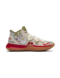 """バスケットシューズ ジュニア キッズ バッシュ ナイキ Nike Kyrie 5 GS """"Bandulu"""" GS Pale Ivory/Dark Orchid 【GS】キッズ"""