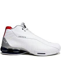 """バスケットシューズ バッシュ スニーカー ナイキ Nike Shox BB4 QS """"Toronto Raptors"""" Wht/M.Silver/C.Purple ストリート"""