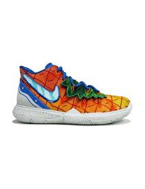 """バスケットシューズ ジュニア キッズ バッシュ ナイキ Nike Kyrie 5 SBSP GS """"Pineapple House"""" GS Org Peal/Teal Tint 【GS】キッズ"""