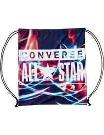 バスケットバッグ サックバック コンバース Converse Viscotecs Sack Bag Blk/Neon ランニング トレーニング ストリート