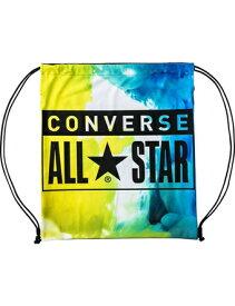 バスケットバッグ サックバック コンバース Converse Viscotecs Sack Bag Lime/S.Blu ランニング トレーニング ストリート