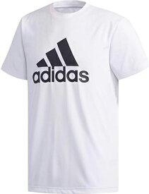 バスケットTシャツ ウェア アデイダス Adidas Must Haves Badge of Sport Climalite Tee Wht ランニング トレーニング 【MEN'S】