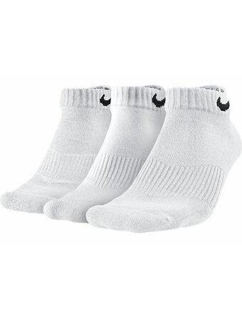 バスケットソックス ウェア ローソックス ナイキ Nike 3P Cotton Cushion Low + Moisture Management Socks Wht ランニング トレーニング ストリート