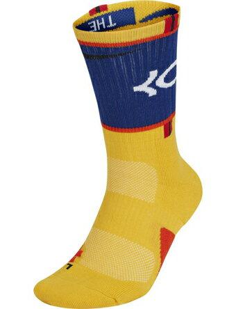 バスケットソックス ウェア クルーソックス ナイキ Nike Elite KD Socks Yel/Blu