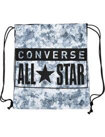 バスケットバッグ サックバック コンバース Converse Viscotecs Sack Bag Blk/Gry ランニング トレーニング ストリート