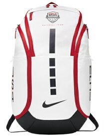 """バスケットバッグ バックパック リュック ナイキ Nike Hoops Elite Pro Backpack """"USA"""" Wht/Obsidian ストリート"""