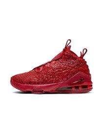 """バスケットシューズ バッシュ ナイキ Nike Lebron 17 GS """"Red Carpet"""" GS U.Red/U.Red/Brt Crimson 【GS】キッズ"""