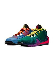 """バスケットシューズ バッシュ ナイキ Nike Zoom Freak 1 1/2 GS """"Roots"""" GS Total Org/D.Yel/Blk/Blu Void 【GS】キッズ"""