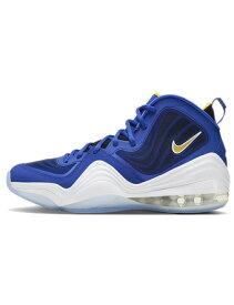 """バスケットシューズ バッシュ スニーカー ナイキ Nike Air Penny 5 """"Blue Chips"""" Bright Blue/Yellow Streak/White/White ストリート"""