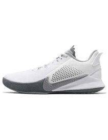 バスケットシューズ バッシュ ナイキ Nike Kobe Mamba Fury EP Wht/W.Gry