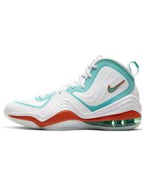 """バスケットシューズ バッシュ スニーカー ナイキ Nike Air Penny 5 """"Dolphins Alternate"""" Wht/Oracle Aqua/Alpha Org ストリート"""